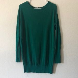 Forest green soft sweater
